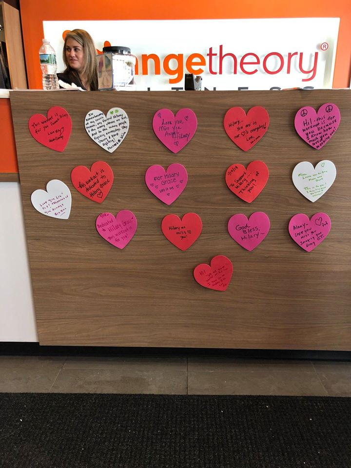 Donation Based Class at Orange Theory- 1/19/19